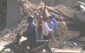 Quảng Ninh: Ngôi nhà 3 tầng bỏ hoang bất ngờ đổ sập