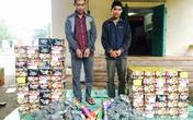 Bắt vụ vận chuyển hơn 200kg pháo từ Lào về Việt Nam