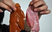 Sốc: Giò bò, xúc xích bò ở Hà Nội… toàn bằng thịt lợn