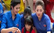 Hoa hậu Ngọc Hân mang Tết Trung thu cho 1.000 trẻ mắc bệnh hiểm nghèo