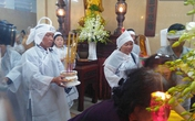 Không có con ruột, hơn 20 người con nuôi về đội tang nghệ sĩ Út Bạch Lan trong đau xót