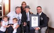 Người đàn ông sống thọ nhất thế giới giành kỷ lục Guinness