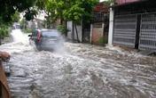 Huyện An Dương, TP Hải Phòng: Dù nắng ráo, khu dân cư vẫn bị ngập lụt