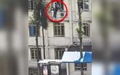 Nữ y tá bất chấp tính mạng, trèo cửa sổ nhà cao tầng cứu bệnh nhân tự tử
