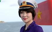 Ảnh hiếm của Hoa hậu Nguyễn Thị Huyền lần đầu tiên ra Trường Sa