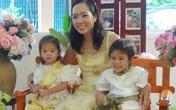 Bố mẹ làm đám cưới cho hai con song sinh