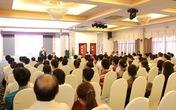 Hơn 400 thí sinh và phụ huynh gặp gỡ lãnh đạo Trường ĐHQT Hồng Bàng