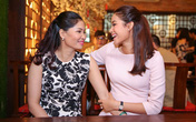 Hoa hậu Phạm Hương đưa mẹ đi sự kiện