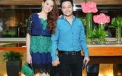 Vợ chồng Trang Nhung quấn quýt trong sự kiện