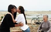 Khánh My thân thiết, hôn say đắm Vũ Tuấn Việt trong phim mới