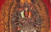 Tìm thấy tượng Phật bà nghìn mắt nghìn tay bị mất trộm ngay ven đường