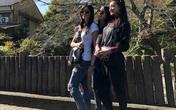 Lâm Tâm Như khoe ảnh du hí Nhật Bản với bạn thân