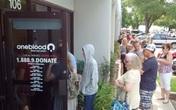 Mỹ kêu gọi hiến máu cho nạn nhân vụ xả súng, nhưng không lấy máu của người đồng tính