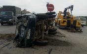 3 xe tải đâm nhau, 4 người bị thương