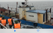 Bắt 1 tàu Trung Quốc xâm phạm chủ quyền vùng biển Việt Nam
