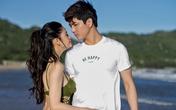 Trương Quỳnh Anh mặc áo tắm sexy, âu yếm chồng trên bờ biển