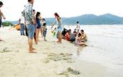 """Đà Nẵng: Sứa đổ bộ """"tấn công"""" người tắm biển"""