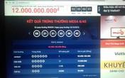 Đã có người trúng vé số hơn 92 tỷ đồng của Xổ số điện toán Việt Nam
