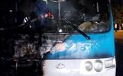 Quảng Ninh: Xe khách 34 chỗ bất ngờ bốc cháy