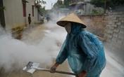 Hà Nội: Người dân vùng tâm lũ nỗ lực đẩy lùi dịch bệnh