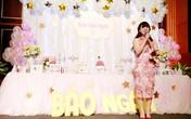 Bà xã Đăng Dương xuất hiện gợi cảm và xinh đẹp trong tiệc sinh nhật con gái Bùi Lê Mận