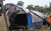 Lao động ngoại tỉnh tại Hà Nội: Buốt giá trong những căn lều te tua