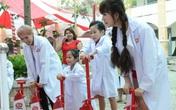 """Minh Hà và Uyên Bùi cùng con trải nghiệm 1 ngày làm """"nhà khoa học"""""""