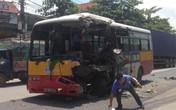 Quảng Ninh: Xe bus đâm trực diện container, nhiều hành khách thoát chết