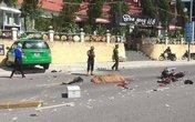 Quảng Ninh: Tài xế taxi vượt ẩu, một người tử vong tại chỗ