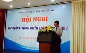 Cục Báo chí tập huấn kỹ năng tuyên truyền về APEC 2017 cho các cơ quan báo chí