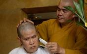 Đau đớn tột cùng, Phước Sang xuống tóc khi ba qua đời