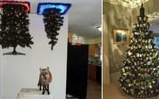 """14 kiểu trang trí cây thông Noel """"lầy lội"""" nhất quả đất"""
