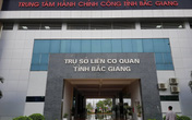 Cận cảnh tòa nhà 350 tỷ đồng mới xây có tấm biển kỳ lạ nhất Bắc Giang