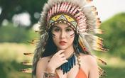 Nữ sinh Hà thành gợi cảm trong tạo hình thổ dân