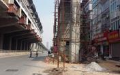 Nguy cơ tai nạn từ thi công nhà ga đường sắt trên cao Cát Linh – Hà Đông