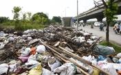 Phát hoảng với bãi phế thải trên đường Nguyễn Xiển