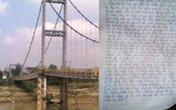 Đau lòng bức thư tuyệt mệnh của nữ sinh lớp 8 cùng bạn nhảy sông tự tử