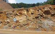 Sạt lở núi tiềm ẩn nguy hiểm tại đường cao tốc Thái Nguyên – Bắc Kạn