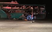 Xe khách giường nằm Ka Long chở nhiều người phát nổ trên quốc lộ 18