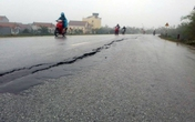 Hưng Yên: Dự án đê nghìn tỷ chưa bàn giao đã nứt