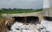 Xã Lại Yên (Hoài Đức, Hà Nội): Cầu tiền tỷ chưa bàn giao đã xuống cấp