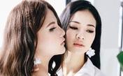 Nhan sắc mê người của em gái Hoa hậu Trần Thị Quỳnh