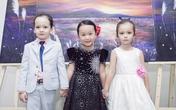 Con gái Linh Nga cùng hai con nhà Hồng Nhung lần đầu biểu diễn piano