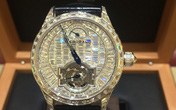 Chiêm ngưỡng chiếc đồng hồ nạm kim cương trị giá 14 tỷ đồng đại gia Việt vừa mua