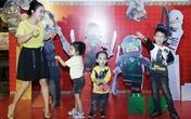Ốc Thanh Vân, Minh Hà vất vả trông nom các con tại sự kiện