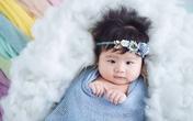 Vân Trang tiết lộ con gái 4 tháng tuổi xinh như thiên thần