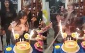 Bé gái suýt biến thành đuốc sống chỉ vì một vật thường dùng trong bữa tiệc sinh nhật