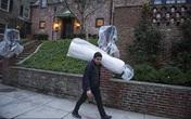Gia đình Tổng thống Barack Obama đã rục rịch dọn đồ về nhà mới