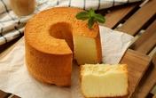 Khó cưỡng lại vị chua ngọt mềm mại của bánh chiffon sữa chua
