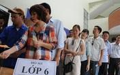 Nhiều trường THCS tại Hà Nội tổ chức kiểm tra để xét tuyển vào lớp 6